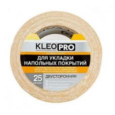 Клейкая лента двусторонняя 48мм*25м Kleo Pro