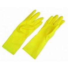 Перчатки латексные с х/б напылением, размер L