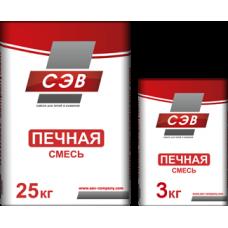 Печная смесь 25кг СЭВ (Боровичи)