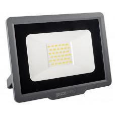 Прожектор светодиодный 30W 6500k IP65 187х167х24мм Jazzway