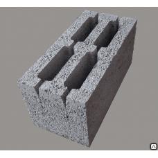 Блок щебёнчатый пустотелый стеновой 20х20х40см (90шт)