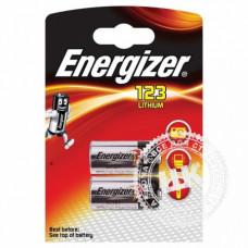 Элемент питания Energizer Lithium CR123F (1 шт в блистере)