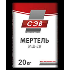 Мертель шамотный 20кг СЭВ (Боровичи)