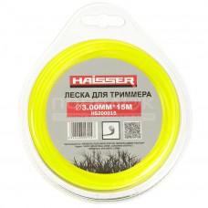 Леска д/триммера HAISSER 3мм 15м Круг 294775
