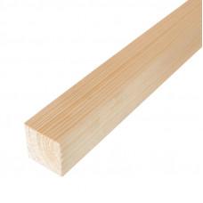 Брусок деревянный строганный 40х40мм 3м