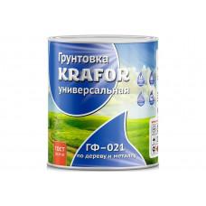 """Грунт ГФ-021 Серый 0,8кг """"Krafor"""""""