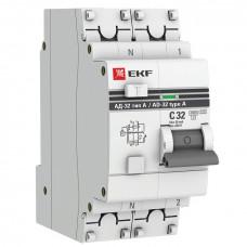 Дифференциальный автомат АД-32 1P+N 32A/30mA EKF PROxima