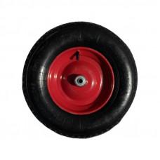 Колесо для тачки D=360мм, Подшипник D=16мм (3.25-8/16)