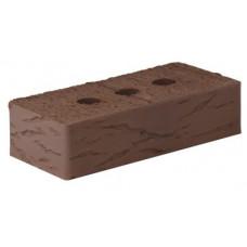 Кирпич керамический полнотелый рустик 1НФ коричневый М-250 Рязань (336шт)