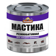 Мастика резинобитумная МРБ 1,8кг Оптилюкс