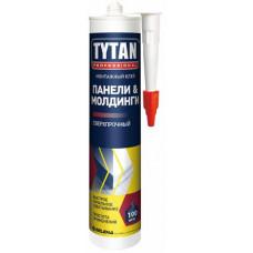 """Клей монтажный для панелей и молдингов каучуковый  бежевый 310 МЛ  """"TYTAN"""""""