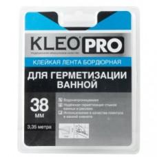 Клейкая лента бордюрная 38мм*3,35м Kleo Pro