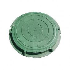 Люк ЛО ПП-630 760*580*80 (зелёный) до 1,5 тонн