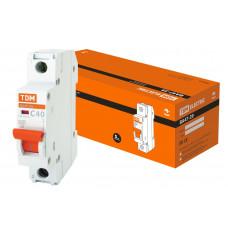 Автоматический выключатель ВА 47-29 4,5кА, С 40А, 1П