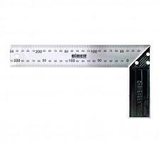 Угольник столярный Профи 250мм Бибер 40625