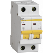 Автоматический выключатель ВА 47-29 2P 16А 4,5кА IEK