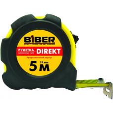 "Рулетка ""DIREKT"" обрезиненный корпус 5м*19мм БИБЕР 40103"