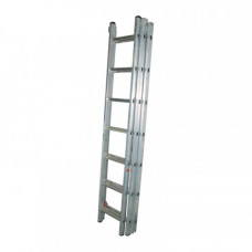 Лестница универсальная 3-х секционная 11 ступеней 98211 Бибер