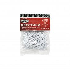 """Крестики для плитки 3,0мм Х 100шт. """"КЕДР"""" 138-0005"""