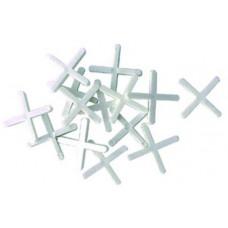 Крестики для укладки плитки 3мм 100шт.  арт.2707030