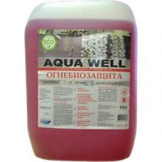 Огнебиозащита красная БСА-42 (2 группа) Agua well 5л