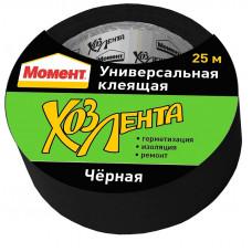 Хоз. лента Момент (черная) 10м Хенкель