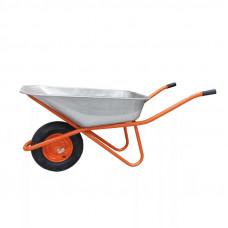 Тачка строительная оцинков. 110л. колесо с подшипником (4.00-8)