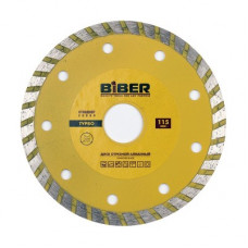 Диск алмазный турбо Стандарт 115мм Бибер 70202