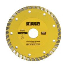 Диск алмазный турбо Стандарт 125мм Бибер 70203