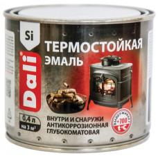 """Эмаль термостойкая """"DALI"""" чёрная 0,4л """"РОГНЕДА"""""""