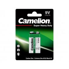 Элемент питания Camelion HEAVY DUTY Green 6F22 (крона)