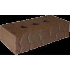 Кирпич керамический полнотелый черепашка 1НФ коричневый М-250 Рязань (336шт)