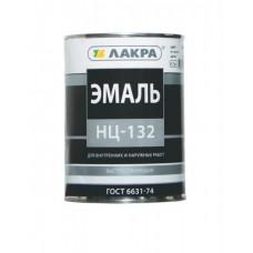 Эмаль Лакра НЦ-132 черный 0,7кг