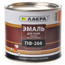 Эмаль ПФ-266 Лакра жёлто-коричневая 2кг