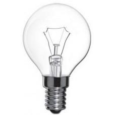 Лампа накаливания Е14 шар, 60Вт, 230В, прозрачная ОСРАМ