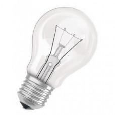 Лампа накаливания Е27 груша 40 Вт 230В прозрачная Осрам