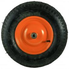Колесо для тачки D=400мм, Подшипник D=16мм (4.00-8)