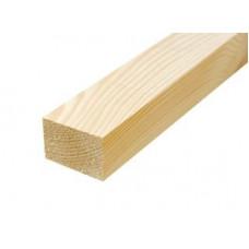 Брусок деревянный строганный 30х50мм 3м