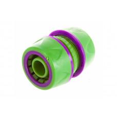 Муфта для шлангов 3/4 пластм. с резин.покрытием