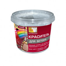 Краситель для бетона коричневый 0,6кг Коллекция