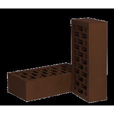 Кирпич керамический лицевой одинарный шоколад Новомосковск (480шт)