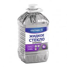 Жидкое стекло 6кг СПУТНИК!