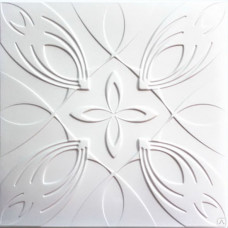 Плита потолочная Солид бел С2052